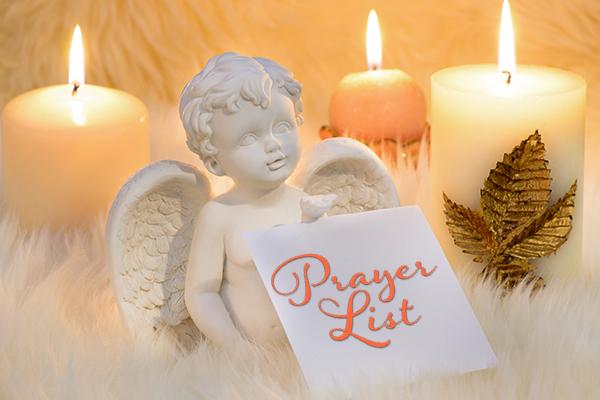 Daily Prayer List